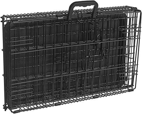 AmazonBasics Folding Metal Dog Crate 7