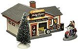 Department 56 Harley-Davidson Village Service Shop Lit House