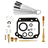 OxoxO Replacement Carb Rebuild Kit with Remove Cleaner Tool Kit,fits Suzuki Quadrunner 125 LT125 4x6 1983 1984 1985 1986 1987