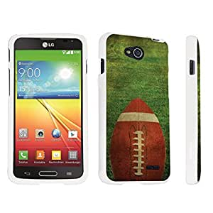 Zheng case LG Optimus L90 Hard Case White - (Football)
