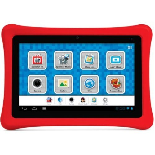 Nabi 7-Inch 2 NV7A 8GB Tablet with 1.3 GHz Processor and ...