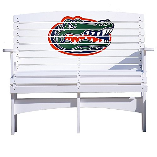 NCAA Outdoor Bench by Key Largo Adirondack - Florida Gators (Lounge Chair Largo)