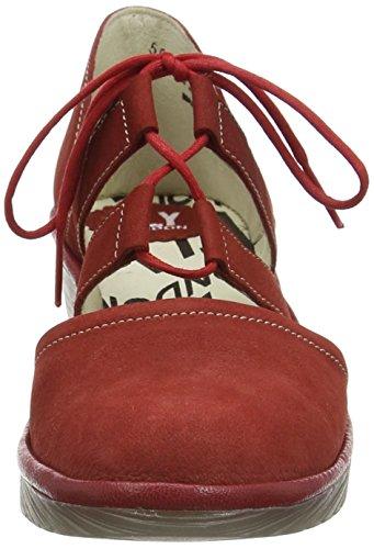 Red cuña Rojo Cherry Cordoba London Fly para Zapatos de Poma mujer nOzxIqC