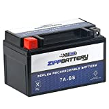 Chrome Battery 7A-BS High Performance Power Sports Battery (YTX7A-BS)