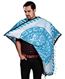 threads west Authentic Mexican Poncho Reversible