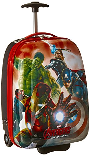 Marvel Avengers Hard Shell Case, Red, One Size (Avengers Children)