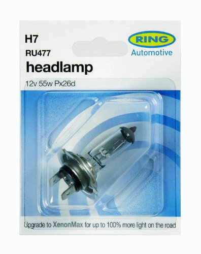 Ring Automotive 477 H7 Carded Bulb