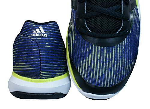 adidas Adipure Primo - Zapatillas de atletismo para hombre, negro / morado / lima