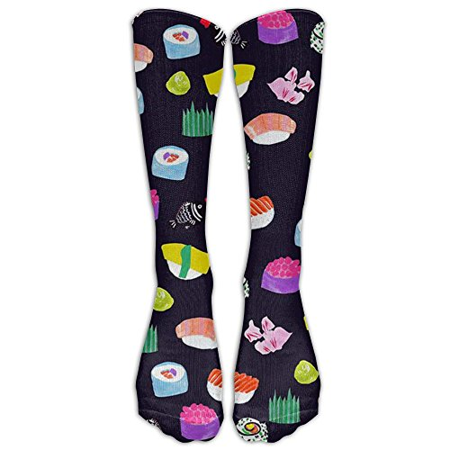 Sushi Logo Cool Knee High Socks Long Athletic Sport - Sushi Logo