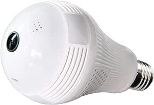 FUZHEN WiFi Camera Light Bulb,1080P HD 360 Wireless Light Camera WiFi Security Camera Home LED Light Cameras Motion Detection Night Vision