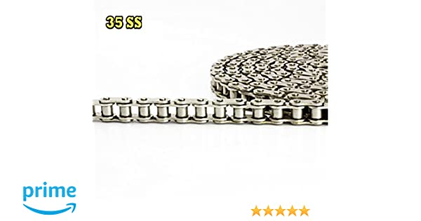 RLV Xtreme #35 Kart Racing Chain 106 Link Gold-on-Black Extreme