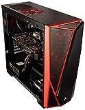CUK Trion Custom Gaming PC (Intel i7-8700K, 32GB RAM, 500GB NVMe SSD + 2TB, NVIDIA GTX 1080 Ti 11GB, Windows 10) The Best New VR Ready Tower Desktop Computer for Gamers (Black/Red)