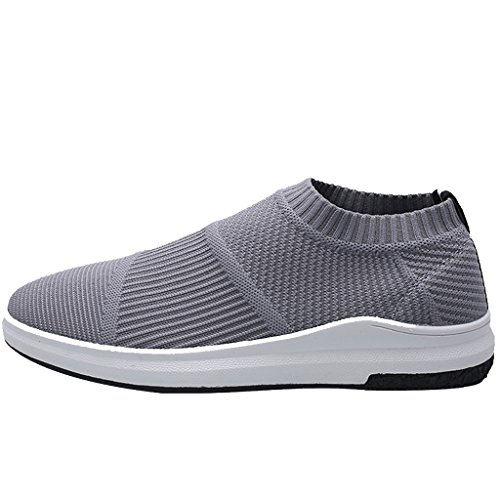 scarpe sportivo da di casual tela uomo scarpe da uomo selvaggio Black scarpe stile Size da pigro stoffa basse Scarpe di uomo coreano 40 Color traspirante di Scarpe tendenza Gray Espadrillas tA1U6qZw7x