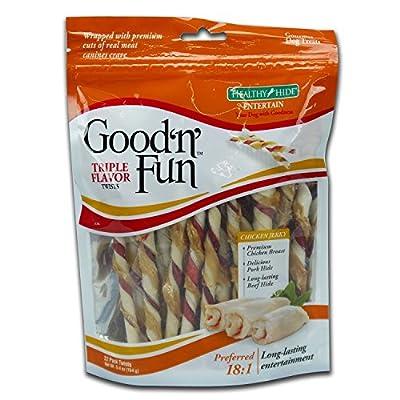 Good'n'Fun Triple Flavor Twists by Tetra, us pets, TETE7