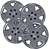01 c240 rims - Hubcaps for 16 inch Standard Steel Wheels (Pack of 4) Wheel Covers - Snap On, Chrome