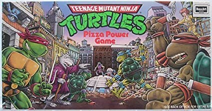 Amazoncom Teenage Mutant Ninja Turtle Pizza Power Game Toys Games