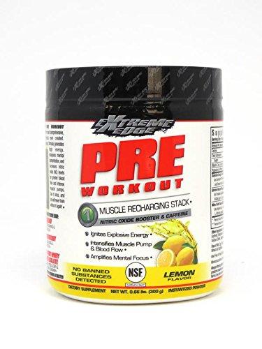 BlueBonnet Extreme Edge Pre Workout Powder, Savage Lemon, 0.66 Pound - Edge Powder