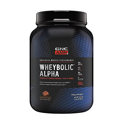 GNC AMP Wheybolic Alpha Whey Protein Powder