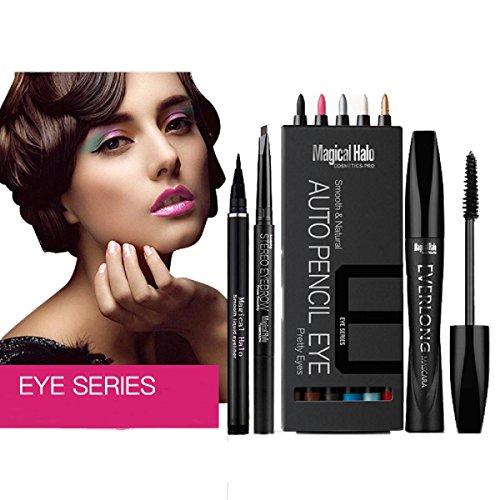 IBTSMagical Halo Eye shadow pen +Eyebrow Pencil + Mascara + Eyeliner