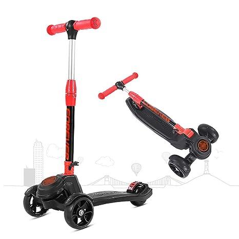 PLLP Patada plegable de Scooter-Scooter para niños Patada ...