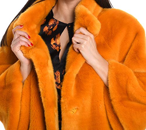 602cccurry Coat Acrylic Orange Woman Venus qw18gB0Ev