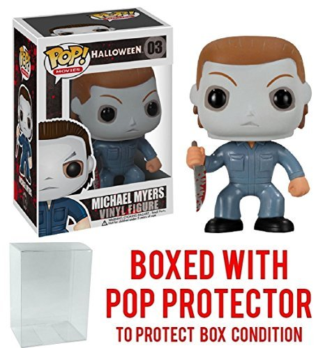 Funko Pop! Horror Movies: Halloween - Michael Myers Vinyl Figure (Includes Compatible Pop Box Protector Case) ()