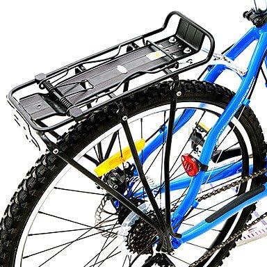alta resistencia negro parrilla trasera bicicleta de aleación de ...