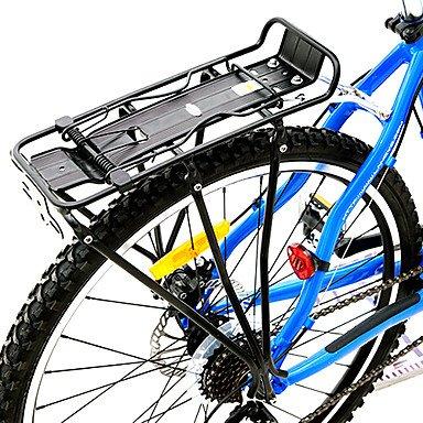 alta resistencia negro parrilla trasera bicicleta de ...