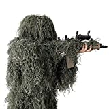 Best Ghillie Suits - LOOBEEN Ghillie Suit 5-in-1 Camouflage Clothes Grass Camo Review
