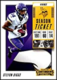 2018 Panini Contenders Season Tickets #41 Stefon Diggs NM-MT Minnesota Vikings Official NFL Football Card