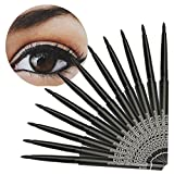 Banstore 12PCS Makeup Black Eyeliner Waterproof Liquid Beauty Comestics Eye Liner Pencil
