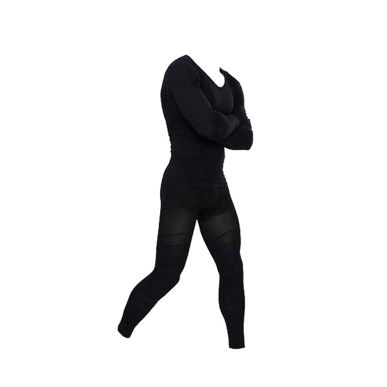 Glield Men's Compression Body Shaper Thermal Underwear Shapewear Sets SW07