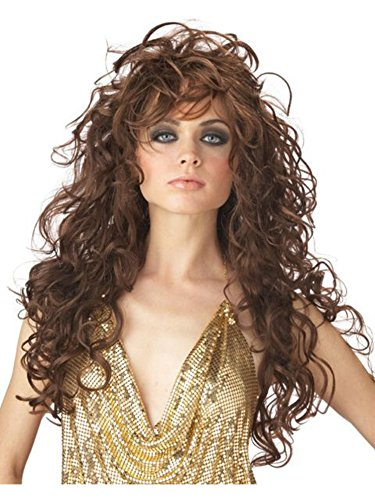 California Costumes Women's Seduction Wig,Brown,One (Brunette Halloween Costumes)