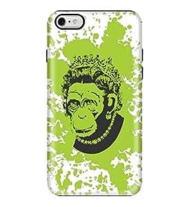 Stylizedd Apple iPhone 6/6s Premium Dual Layer Tough case cover Matte Finish - Ape Queen