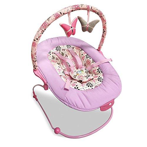 Cadeira De Repouso Musical Poly Borboletinha Baby Style