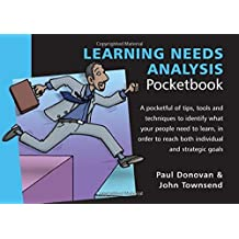 Learning Needs Analysis Pocketbook by Paul Donovan (2015-01-15)