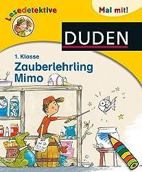 Lesedetektive Mal mit! - Zauberlehrling Mimo, 1. Klasse