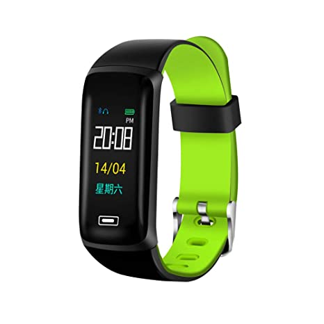 Cebbay Reloj Deportivo Monitor de frecuencia cardíaca Impermeable IP67 Podómetro Reloj Inteligente Reloj de Hombre Reloj