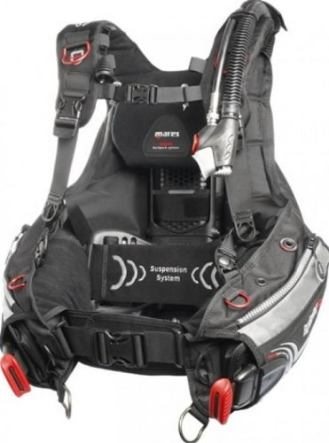 Mares Hybrid BC with MRS Plus System - X-Large
