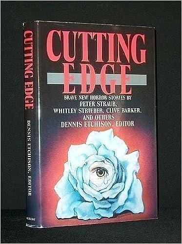 Cutting Edge Amazon Dennis Etchison 9780385234306 Books