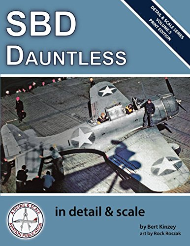 Scale Military Aircraft Series - SBD Dauntless in Detail & Scale (Detail & Scale Series)