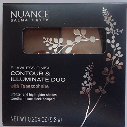 Salma Hayek Nuance Flawless Finish Contour & Illuminate Duo #530 Pearl Light & Shaded Sand Decadent Duo