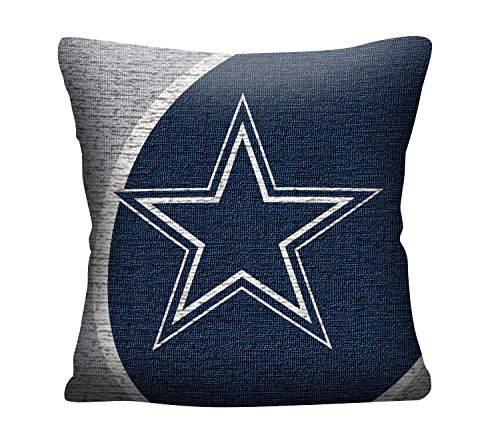 The Northwest Company Officially Licensed NFL Dallas Cowboys Portal Jacquard Pillow, 20