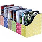 Evelots S/6 Magazine/File Holders, Floral