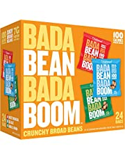 Save on Enlightened Bada Bean Bada Boom Gluten Free Roasted Broad Fava Bean Snack, Savory Variety Pack, 1 ounce, 24 Count and more