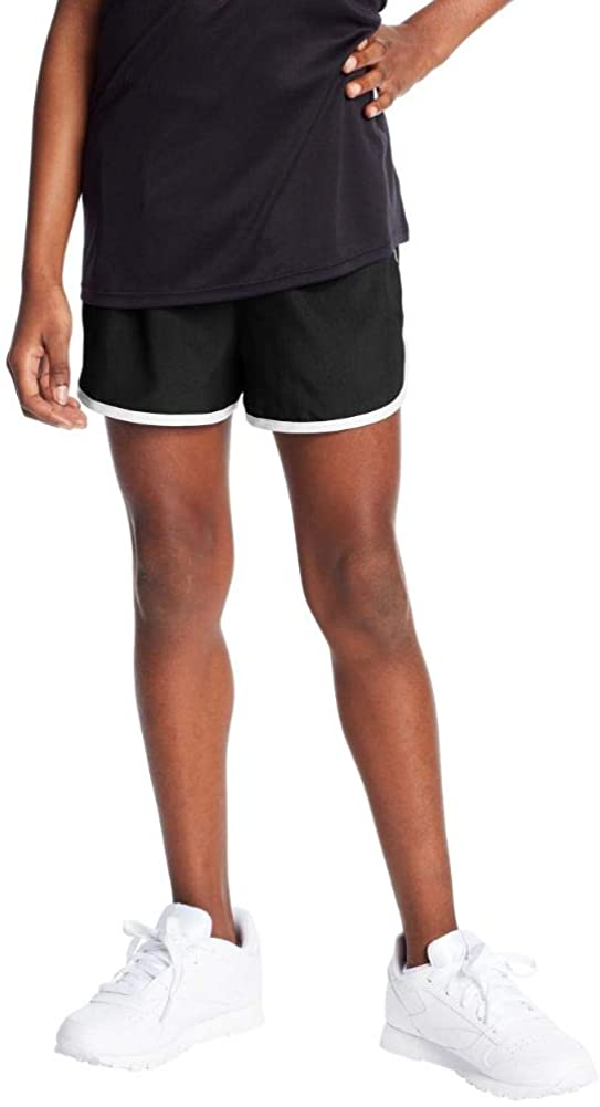 "C9 Champion Girls' 2"" Woven Running Shorts: Clothing"