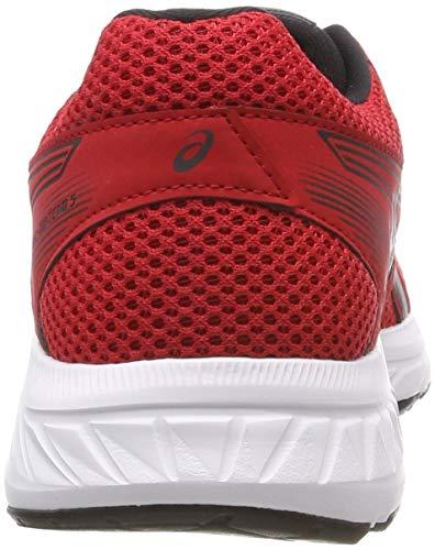 contend Rosso 5 600 dark Gel Grey Red Da Running Scarpe Asics Uomo classic 705q6wEU7f