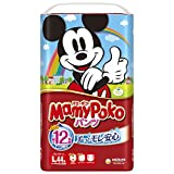 Mamypoko-pants Mickey Mouse Design Collection [ Man-and-woman Common Use ] L-size { 9kg~14kg } 44sheets [ Japanese Import ]