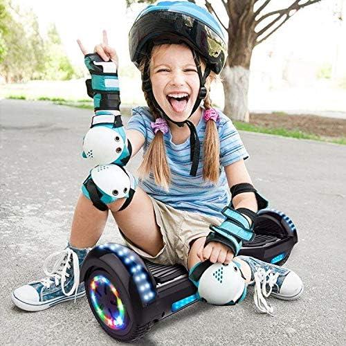COLORWAY Overboard Hover Scooter Board Gyropode Bluetooth 6.5 Pouces, Scooter Electrique Moteur 700W, Self-Balance Board avec LED, E-Scooter Auto-équilibrage pour Enfant et Adult