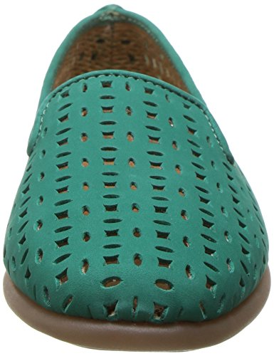 Women's You Blue Loafer Leather On Green Slip Aerosoles Betcha gHWdw5qU